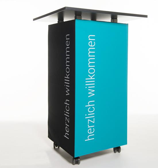 Stehtischhusse mit Logo oder Fotodruck